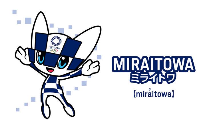 Miraitowa - the official mascot of the 2021 Tokyo Summer Olympics.
