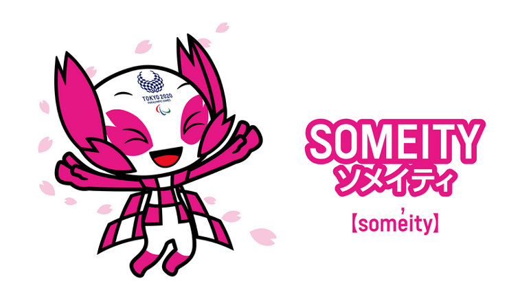 Someity - the official mascot of the Tokyo 2021 Paralympic Games.