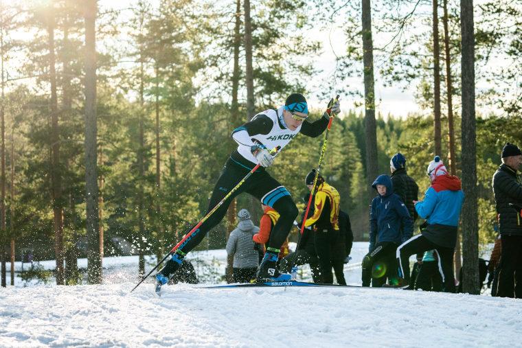 Verneri Suhonen ja Juuso Haarala sprinttikisan kaksoisvoittoon Bodenissa